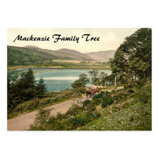 Loch Loskin, Dunoon, Scotland Large Business Cards (Pack Of 100)