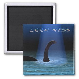 Loch Ness 1 2 Inch Square Magnet