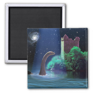 Loch Ness 2 2 Inch Square Magnet