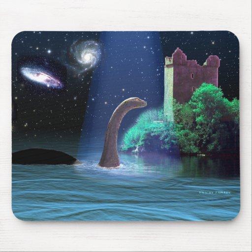 Loch Ness 2 Alfombrillas De Raton