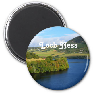 Loch Ness 2 Inch Round Magnet
