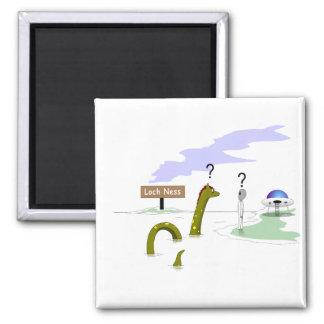 Loch Ness 2 Inch Square Magnet