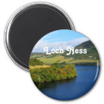 Loch Ness Imán Redondo 5 Cm
