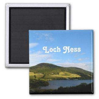 Loch Ness in Scotland 2 Inch Square Magnet