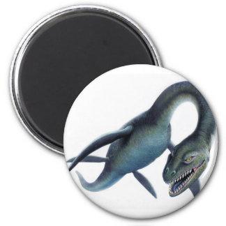 Loch Ness Monster 2 Inch Round Magnet