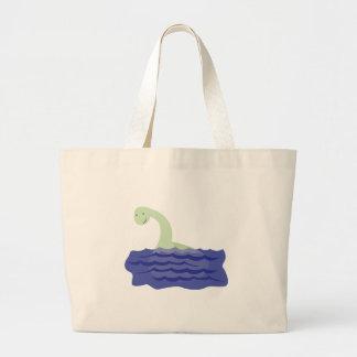 Loch Ness Monster Jumbo Tote Bag