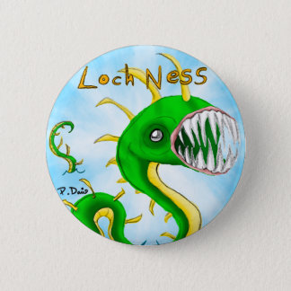 Loch Ness Monster Button