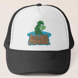 Loch Ness Monster Cartoon Trucker Hat