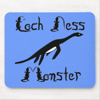 Loch Ness Monster Mouse Pad