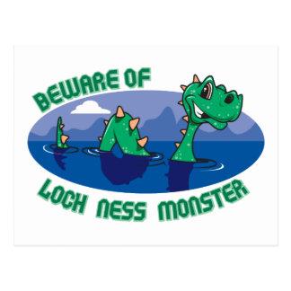 Loch Ness Monster Postcard