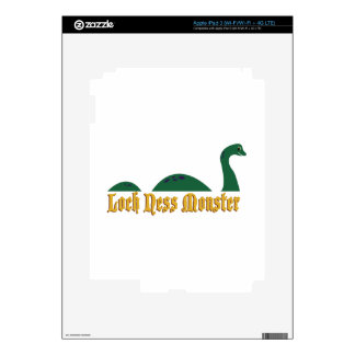 Loch Ness Monster Skins For iPad 3