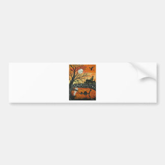 Loch Ness Monster This Halloween Bumper Sticker