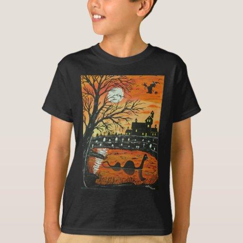 Loch Ness Monster This Halloween T_Shirt