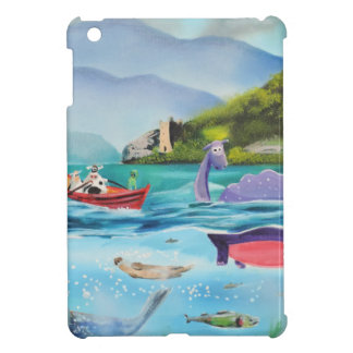 Loch Ness monster underwater painting G BRUCE Case For The iPad Mini