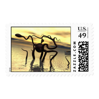 Loch Ness Monster! (water monster) Stamps