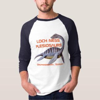 Loch Ness Plesiosaurs Baseball shirt