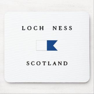 Loch Ness Scotland Alpha Dive Flag Mouse Pad