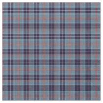 Loch Ness Scotland District Tartan Fabric