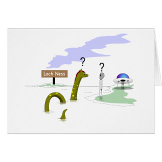 Loch Ness Felicitación