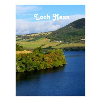 Loch Ness Tarjeta Postal