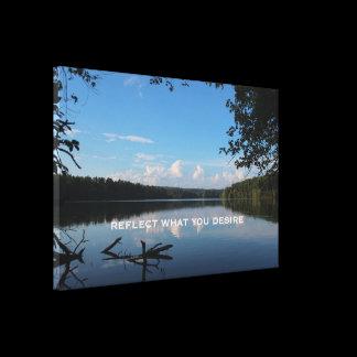 Loch Raven Reservoir Canvas Print