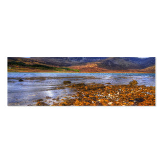 Loch Slapin, Isle of Skye Double-Sided Mini Business Cards (Pack Of 20)