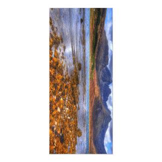Loch Slapin, Isle of Skye 4x9.25 Paper Invitation Card
