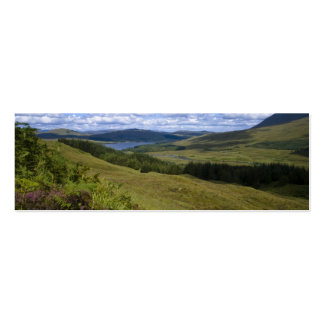 Loch Tulla Bookmark Double-Sided Mini Business Cards (Pack Of 20)