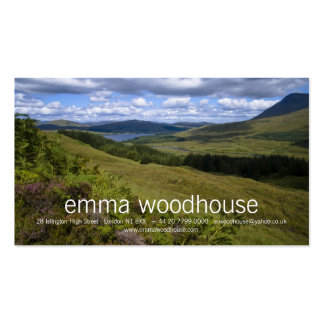 Loch Tulla Personal Business Card