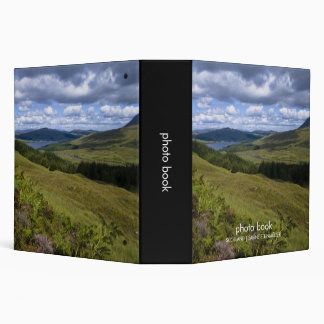 Loch Tulla Photo Book 3 Ring Binders