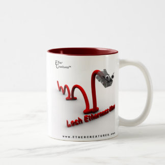 LochEthernessMonsterMug Two-Tone Coffee Mug