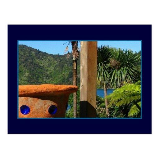 Lochmara Terra Cotta Vase Postcard