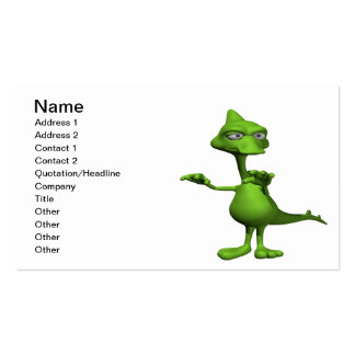 Lochness Monster Business Cards