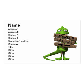 Lochness Monster Double-Sided Standard Business Cards (Pack Of 100)
