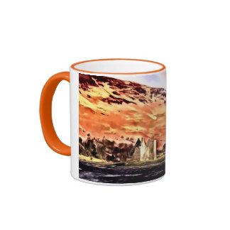 Lochranza Castle Ringer Mug