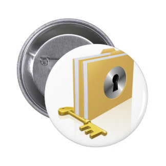 lock and key concepts 2012 C2 jpg Pinback Button