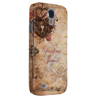Lock and Key Wedding Samsung Galaxy S4 Cases