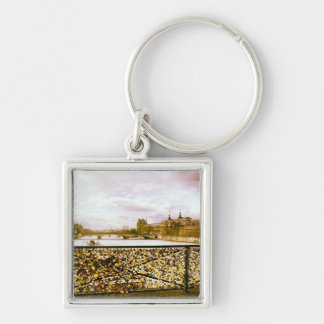 Lock Bridge in Paris Keychain