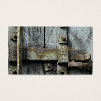 Lock Business Card