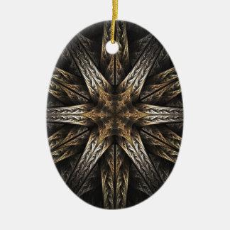 Lock Ceramic Ornament