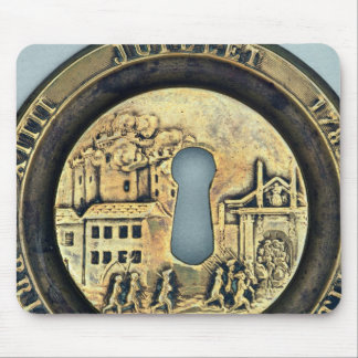Lock depicting the Siege of the Bastille Mouse Pad