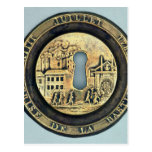 Lock depicting the Siege of the Bastille Postcard