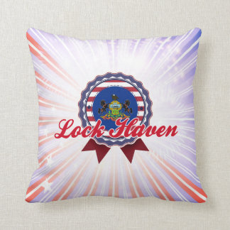 Lock Haven, PA Throw Pillow