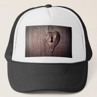 Lock Heart Trucker Hat