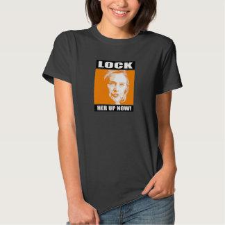 Lock Her Up Now - - Anti-Hillary - T-Shirt