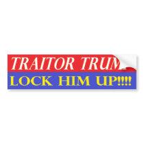 Lock Him Up Bumper Sticker