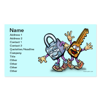 Lock n Key Business Cards