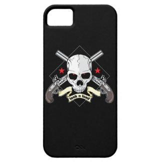 Lock n Load Skull With Pistols And Stars iPhone SE/5/5s Case
