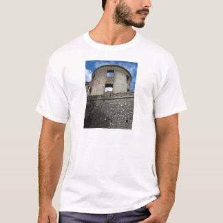 Lock ruin borrowing cross-beam T-Shirt