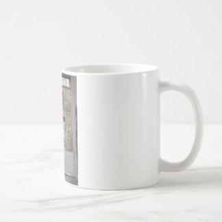 Lock ruin coffee mug